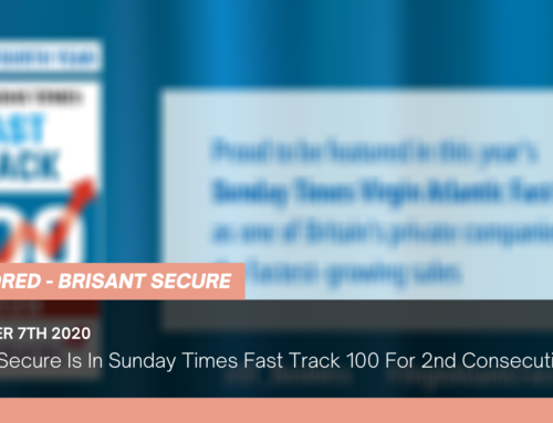 Brisant Secure Is In Sunday Times Fast Track 100 For 2nd Consecutive Year