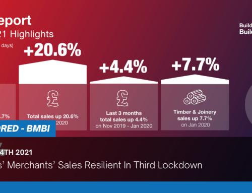 Builders' Merchants' Sales Resilient In Third Lockdown