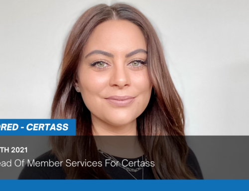 New Head Of Member Services For Certass