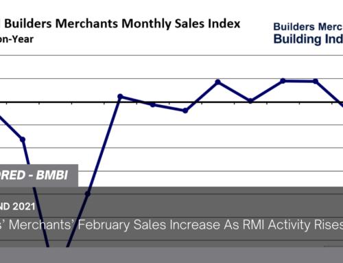 Builders' Merchants' February Sales Increase As RMI Activity Rises