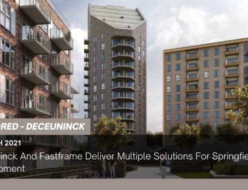 Deceuninck And Fastframe Deliver Multiple Solutions For Springfield Park Development