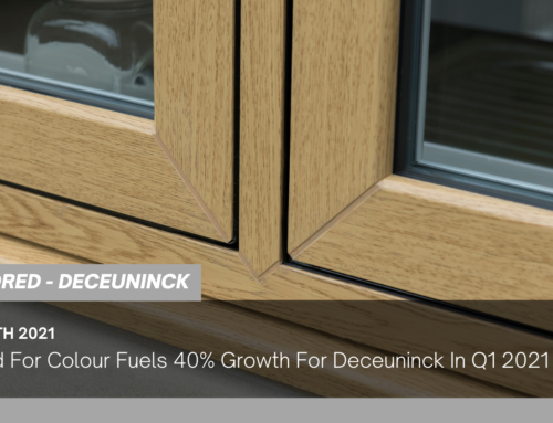 Demand For Colour Fuels 40% Growth For Deceuninck In Q1 2021