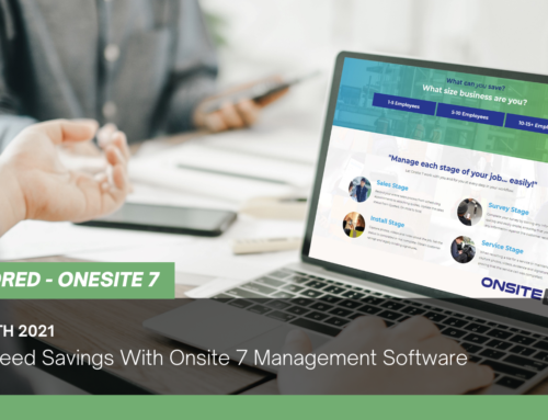 Guaranteed Savings With Onsite 7 Management Software
