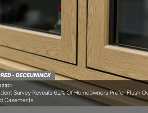 Independent Survey Reveals 62% Of Homeowners Prefer Flush Over Standard Casements