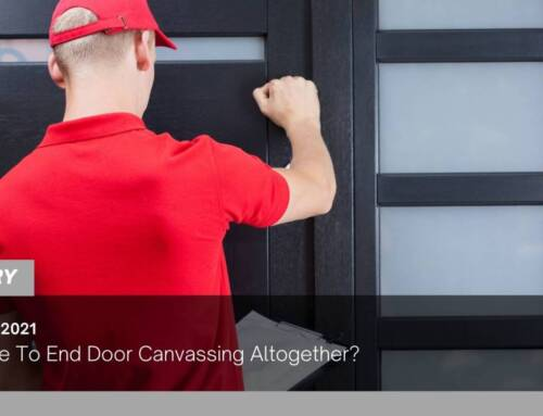 Is It Time To End Door Canvassing Altogether?
