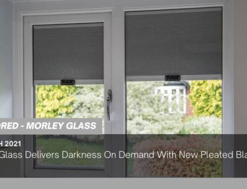 Morley Glass Delivers Darkness On Demand With New Pleated Blackout Blinds