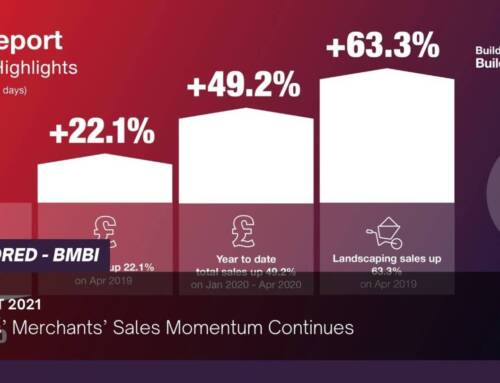Builders' Merchants' Sales Momentum Continues