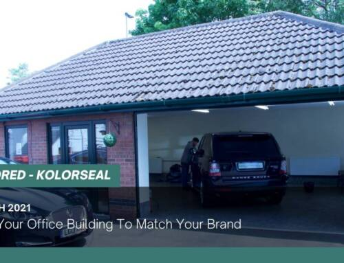 Colour Your Office Building To Match Your Brand