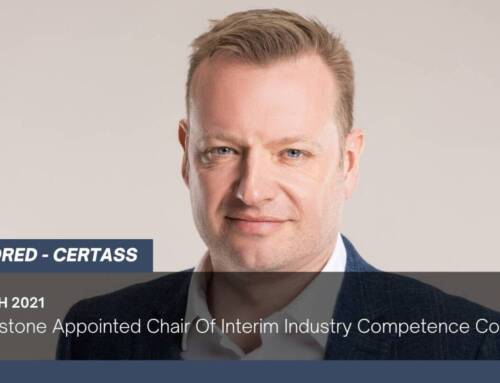 Jon Vanstone Appointed Chair Of Interim Industry Competence Committee