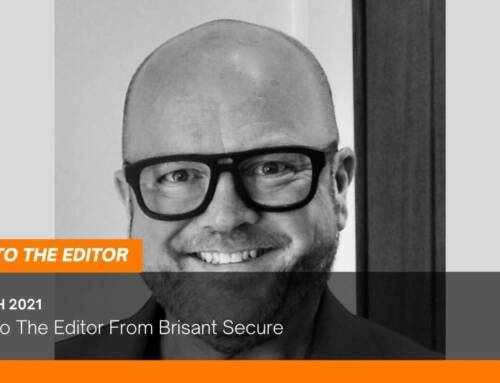 A Letter To The Editor From Brisant Secure
