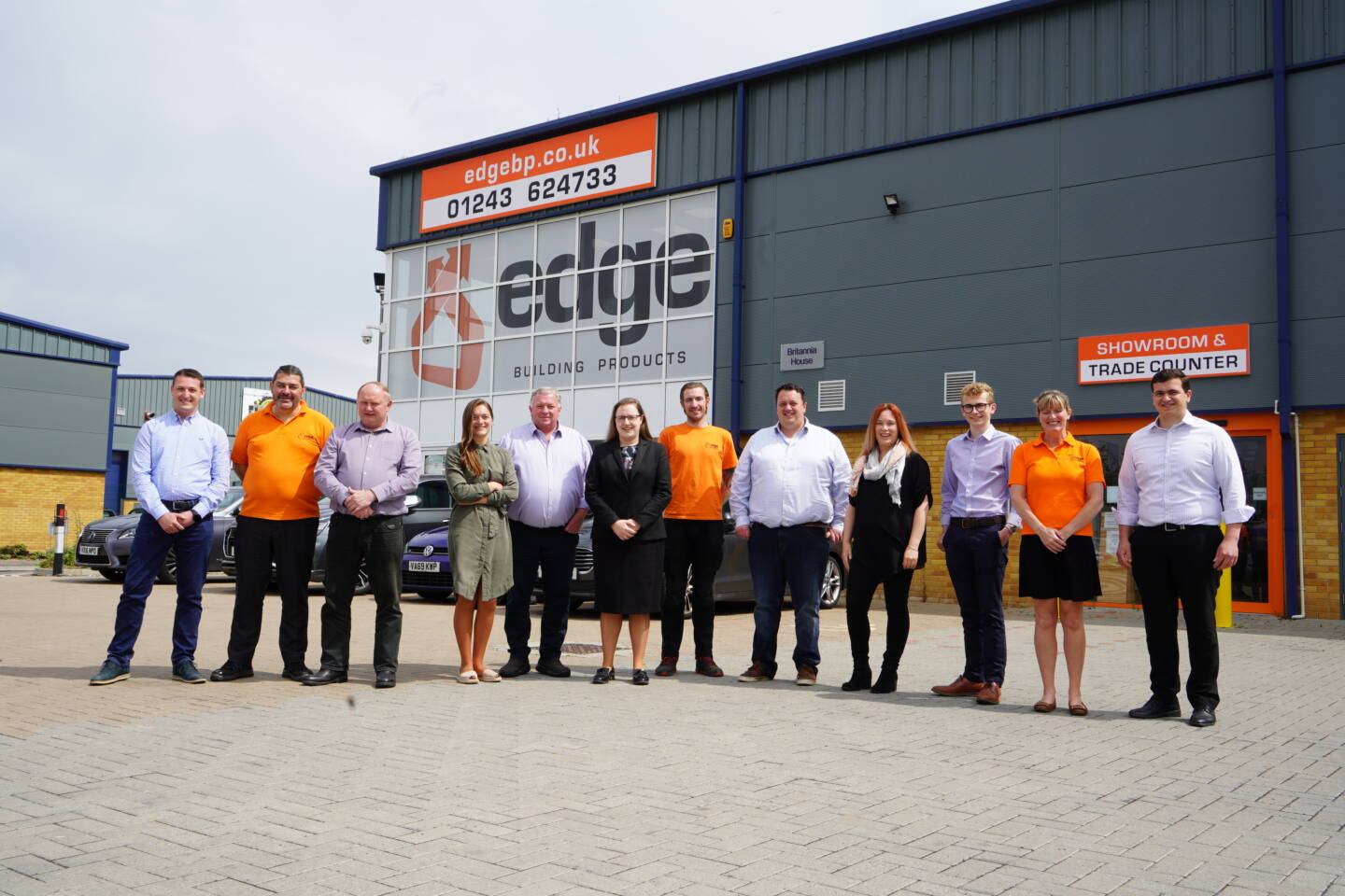 Edge Building Products team