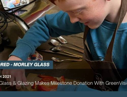 Morley Glass & Glazing Makes Milestone Donation With GreenVision Fund