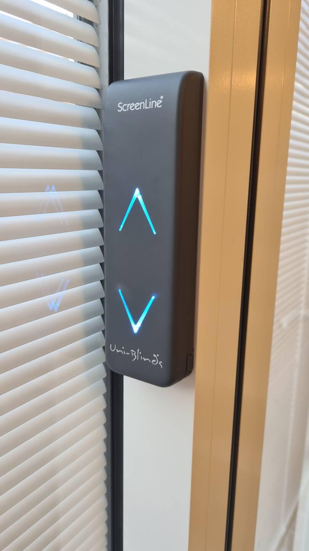 W Smart integral blinds