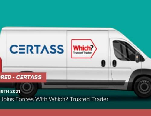Certass Joins Forces With Which? Trusted Trader