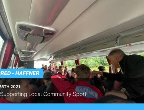 Haffner Supporting Local Community Sport