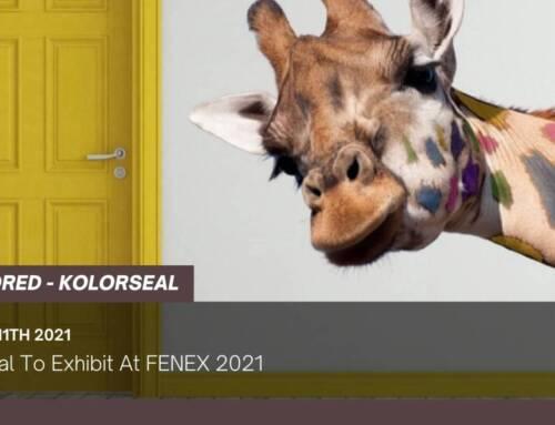 Kolorseal To Exhibit At FENEX 2021