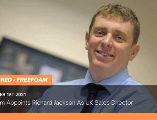 Freefoam Appoints Richard Jackson As UK Sales Director