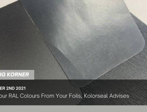 Know Your RAL Colours From Your Foils, Kolorseal Advises