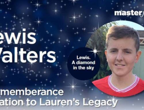 Lewis Walters: A Remembrance Donation To Lauren's Legacy