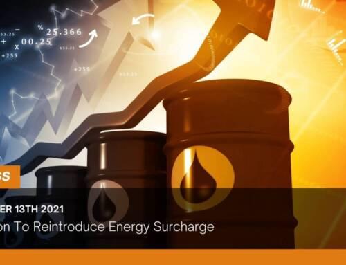 Pilkington To Reintroduce Energy Surcharge