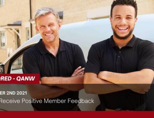QANW Receive Positive Member Feedback