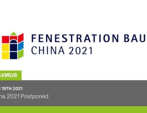 Bau China 2021 Postponed