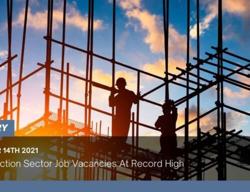 Construction Sector Job Vacancies At Record High