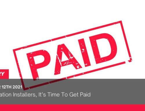Fenestration Installers, It's Time To Get Paid