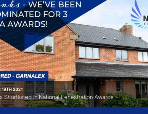 Garnalex Shortlisted In National Fenestration Awards