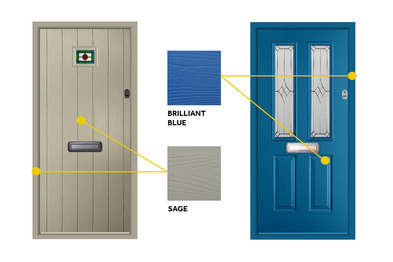 Endurance composite door colours
